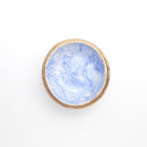 Marble Blue Jewelry Dish