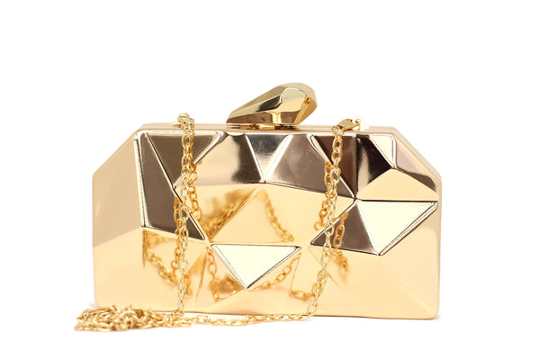 Abstract Stone Clutch