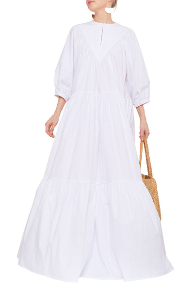 COTTON DRESS WHITE