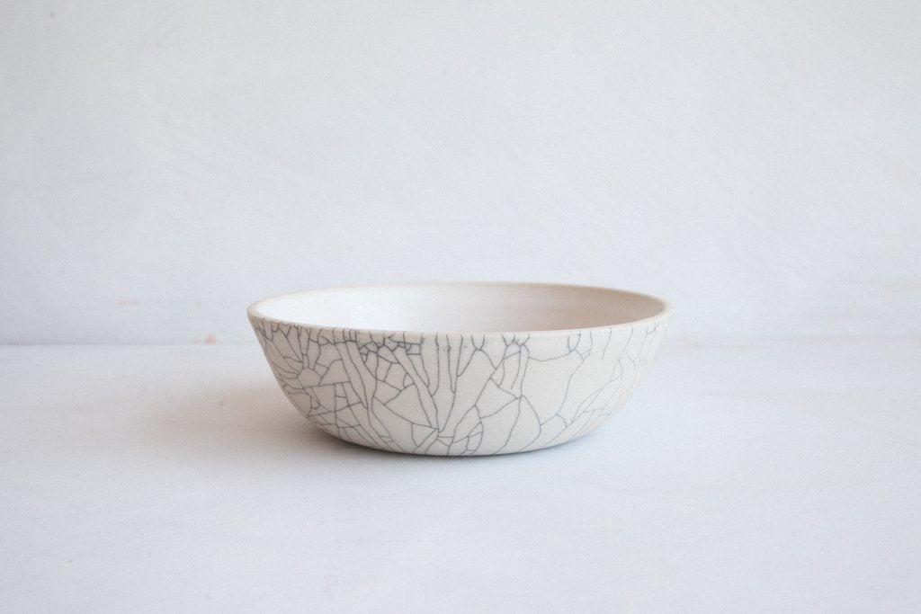 Earthen- Grain Bowl / Crackle