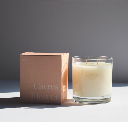 Dilo- Cactus Flower Candle