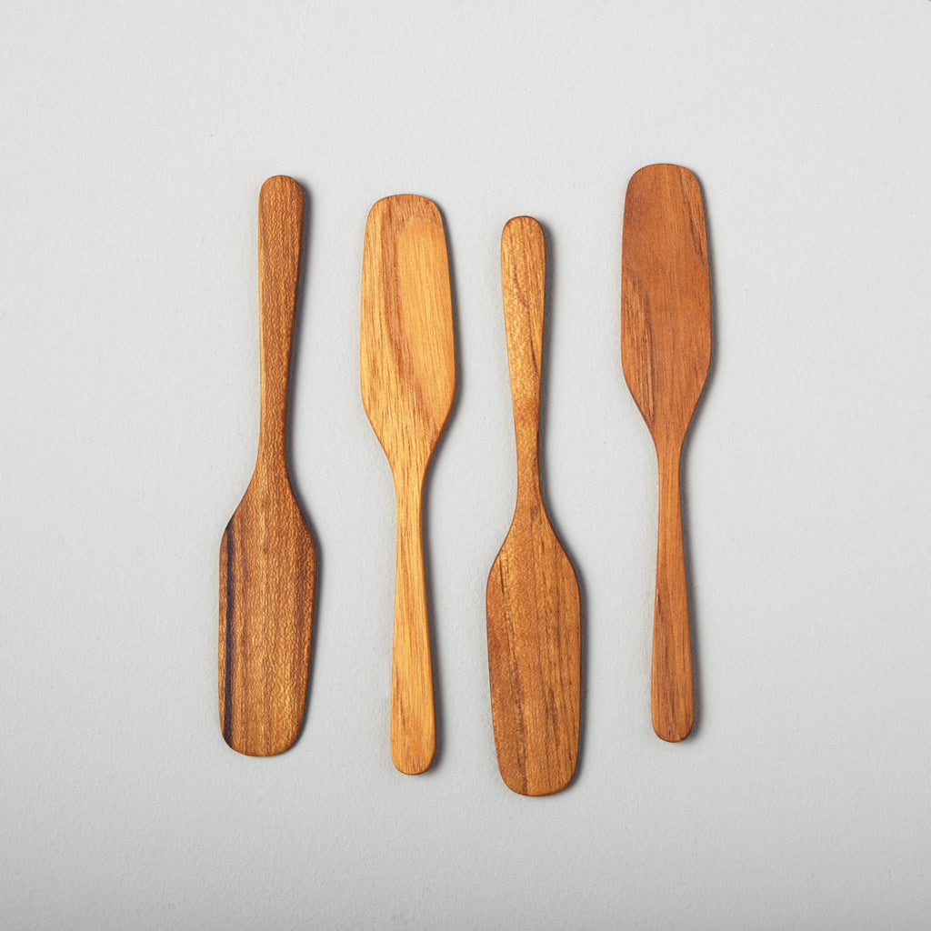 Be Home- Teak Oar Spreaders, set of 4