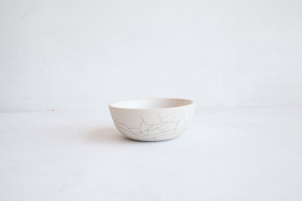 Earthen- Sauce Bowl / Crackle
