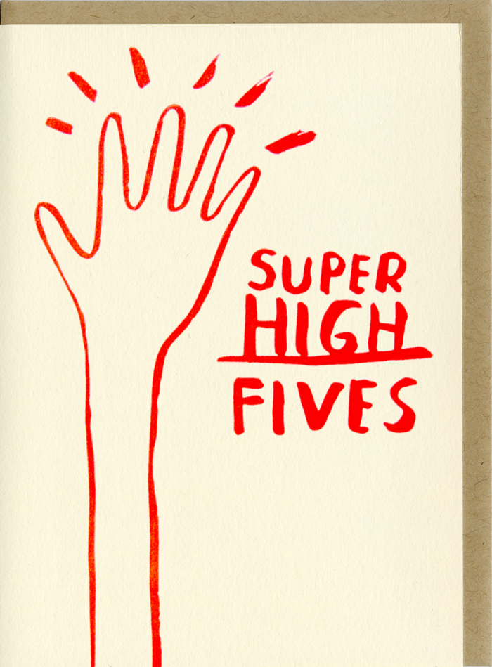 People I've Loved- Super High Fives Card