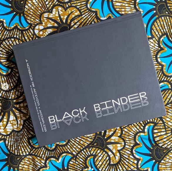 Black Binder: A Notebook for Activists and Accomplices by Tovah Cook