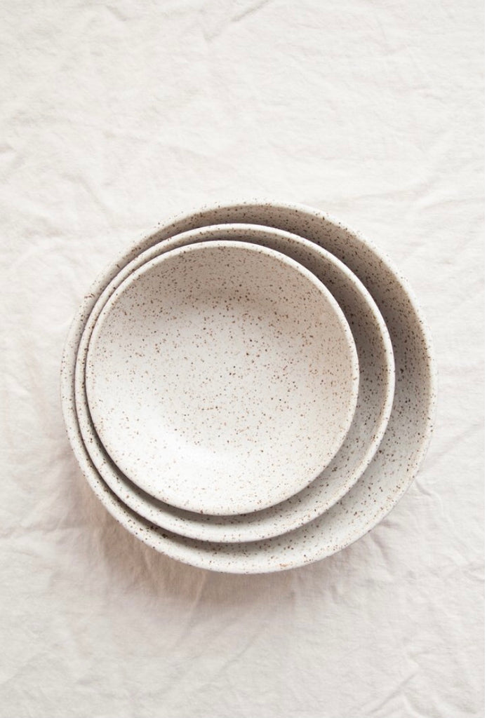 Earthen- Nesting Bowls / Pebble