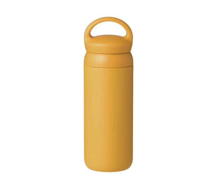 Kinto USA- Day Off Tumbler, 500 ml, Mustard