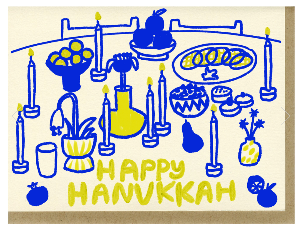 People I've Love- Happy Hanukkah Card