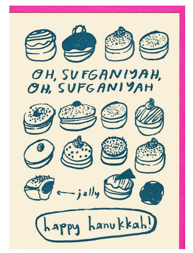 People I've Loved- Oh Sufganiyah Card