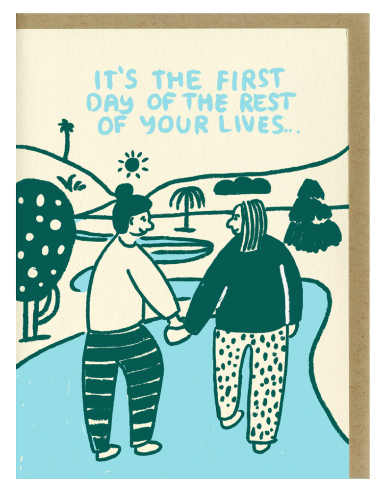 People I've Loved- The First Day Card