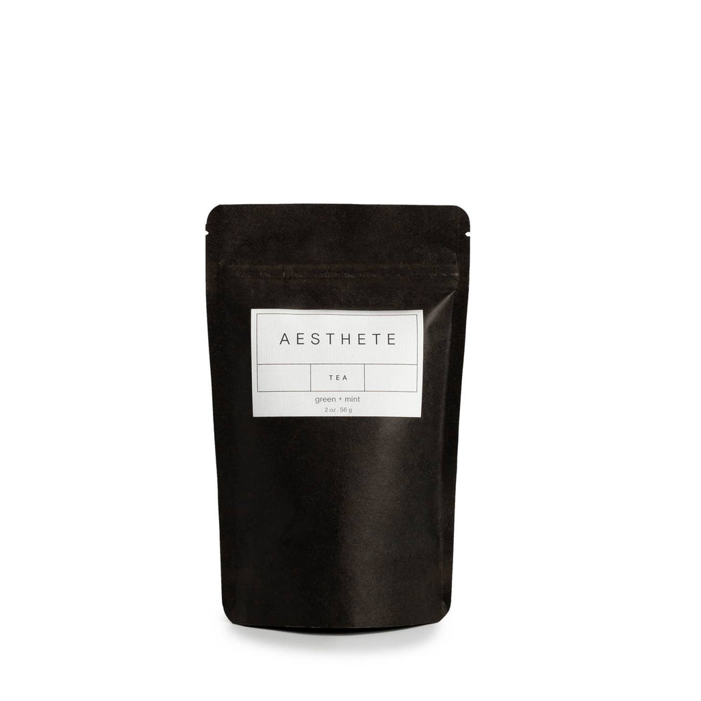 Aesthete Tea- Mint and Green Tea, 2oz.