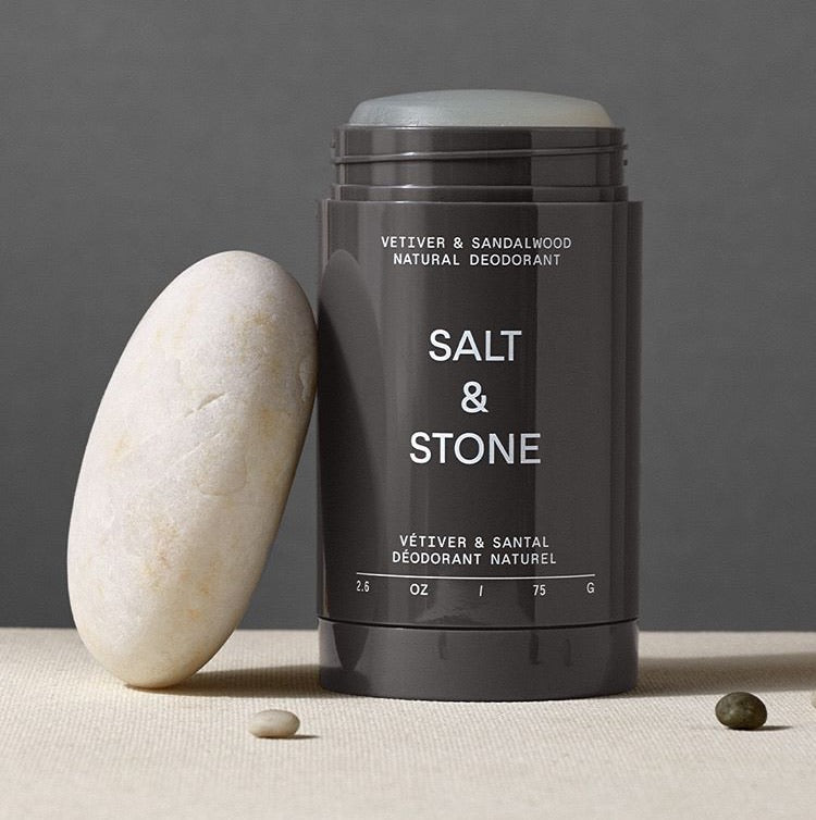 Salt and Stone- Natural Deodorant, Vetiver & Sandalwood