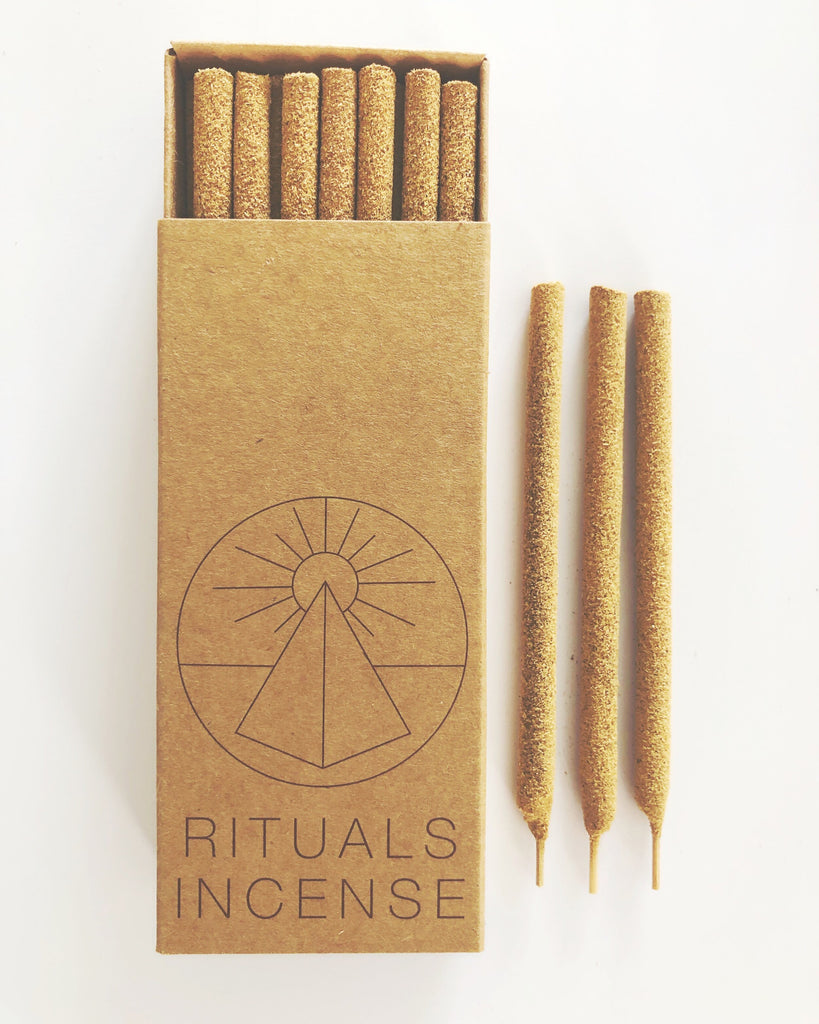 Rituals incense- Palo Santo Incense Sticks, 14 pack