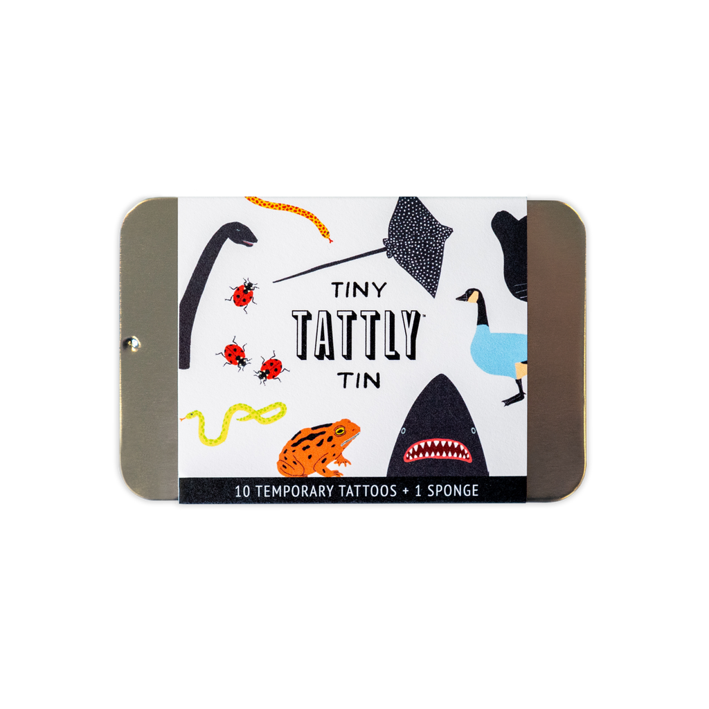 Tattly Tiny Animal Tattoo Tin