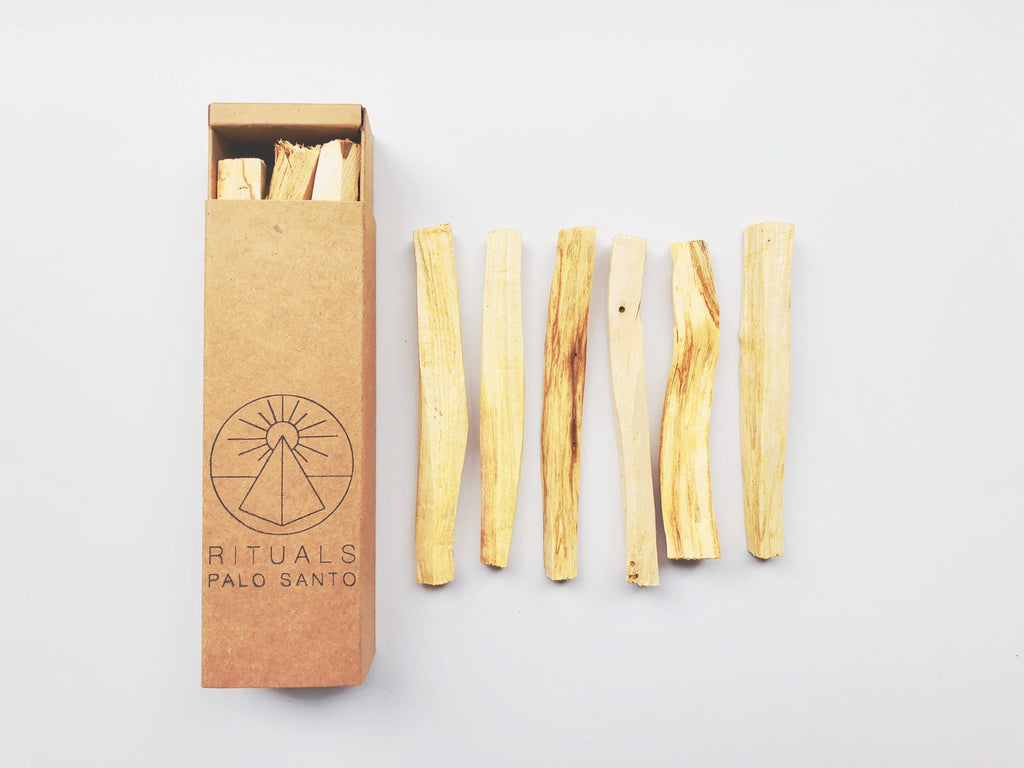 Rituals incense- Palo Santo Wood Sticks, 6 pack