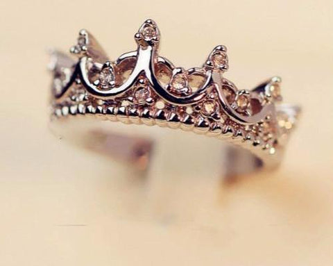 Queen Royal Crown Ring