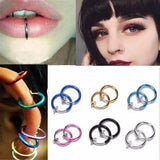 2 Piece Emo Fake Nose Ring