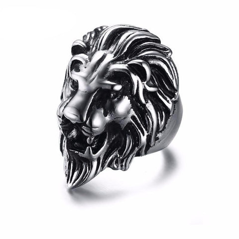 King Lion Stainless Steel Ring