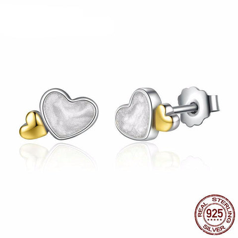 Romantic Cute Hearts Earrings