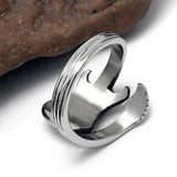 Steel Electronic Guitar Ring