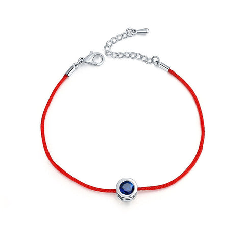 Crystal Pendant Red String Bracelet