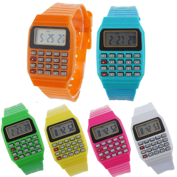 1980's Retro Calculator Watch