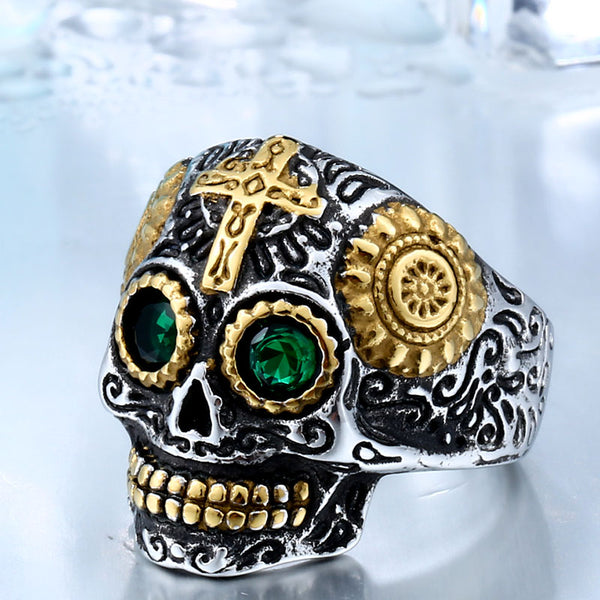 Pirate Stainless Steel Skull Rings