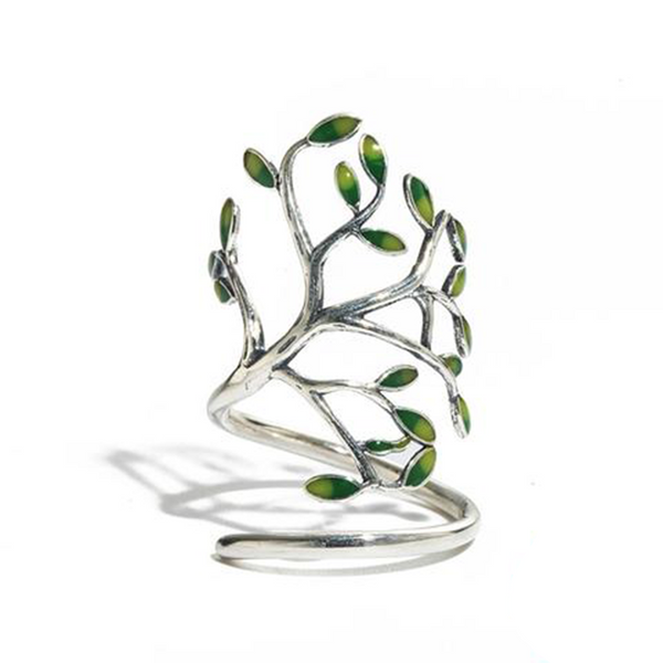 Handmade Sterling Silver Tree Ring