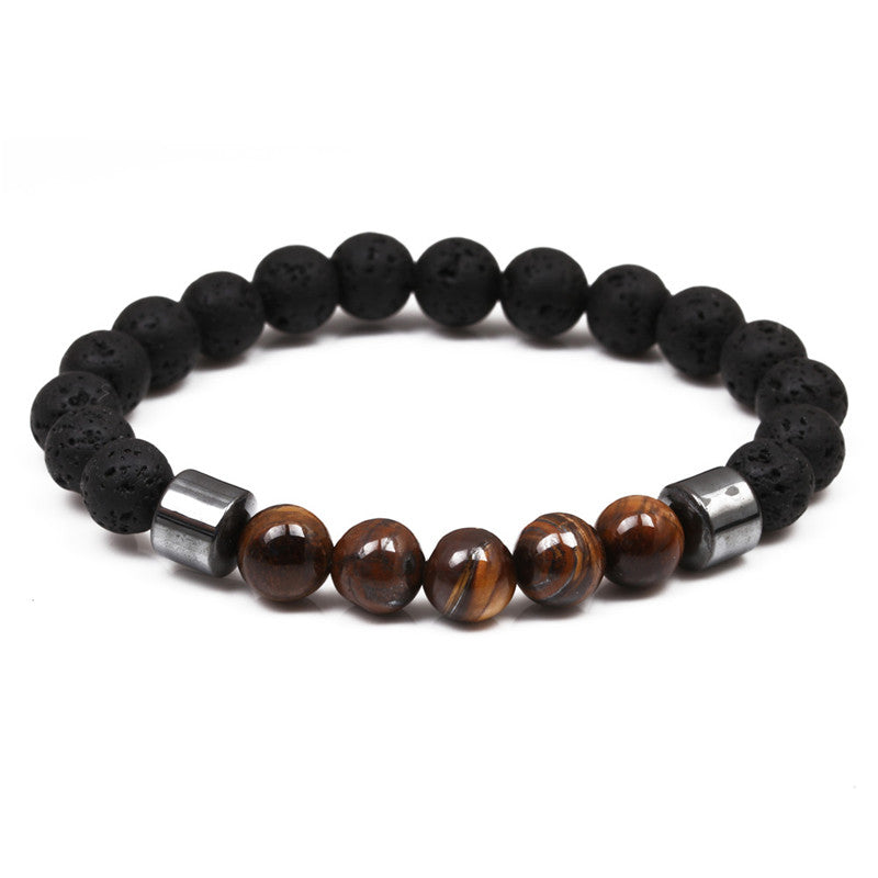 Tiger Eye Energy Diffuser Bracelet