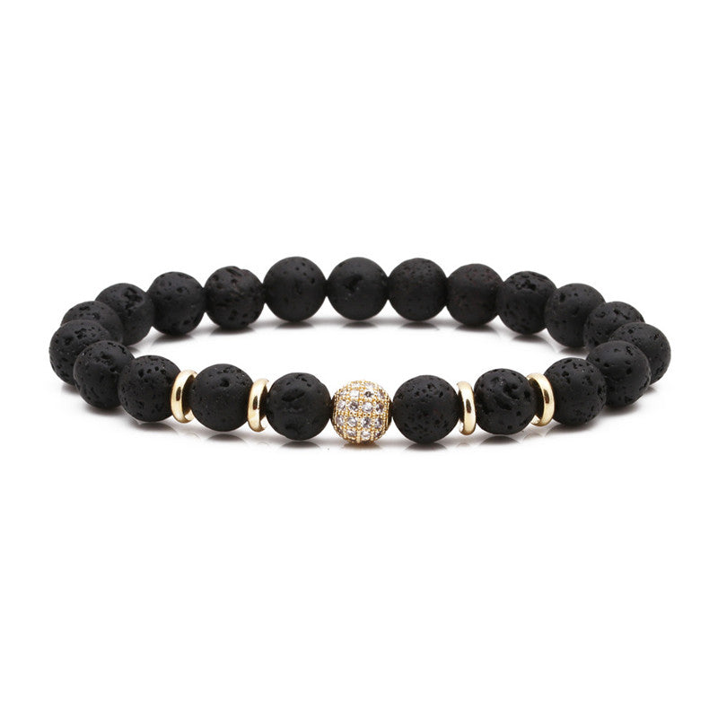 Golden Bliss Diffuser Bracelet