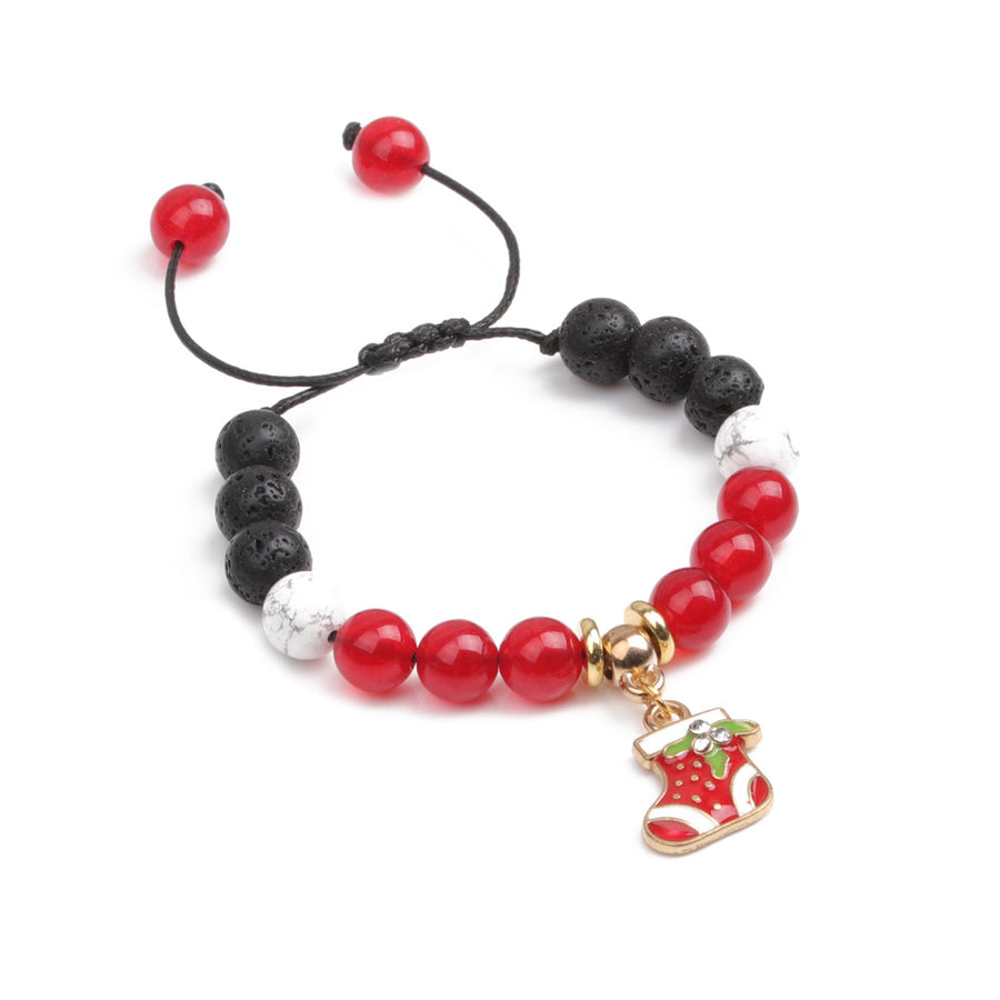 Christmas Stocking Kids Diffuser Bracelet