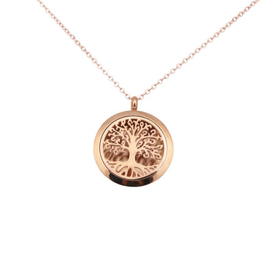 Petite Tree Of Life Diffuser Necklace