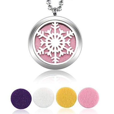 Snowflake Diffuser Necklace
