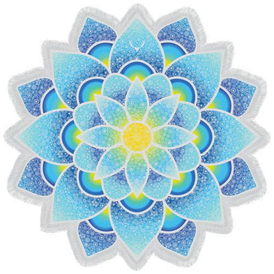Blissful Lotus Tapestry