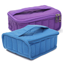 30 Bottles Essential Oils Velour Carry Case