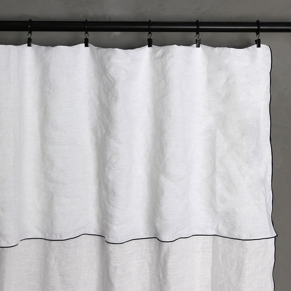 Bourdon Edge Curtains Top View