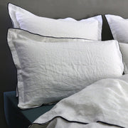Bourdon Edge Flanged set of 2 Pillowcases - Linenshed