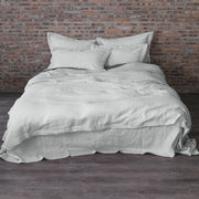Pre-washed Linen Duvet Cover Stone Gray