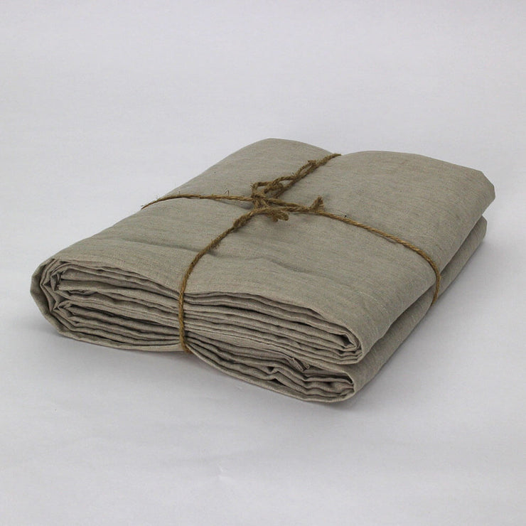 Flat Sheet Natural Undyed Folded