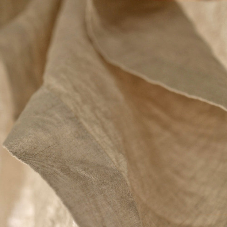 Rustic Linen TableCloth with Mitered Corners