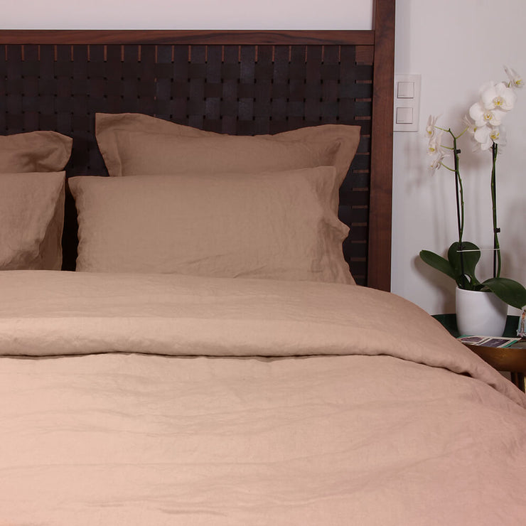 Nude Duvet Cover Nude with pillowcases set
