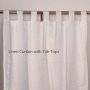 Pure Washed Linen Curtain Drapery
