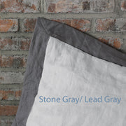 French color Border Closeup Stone Grey-Lead Grey