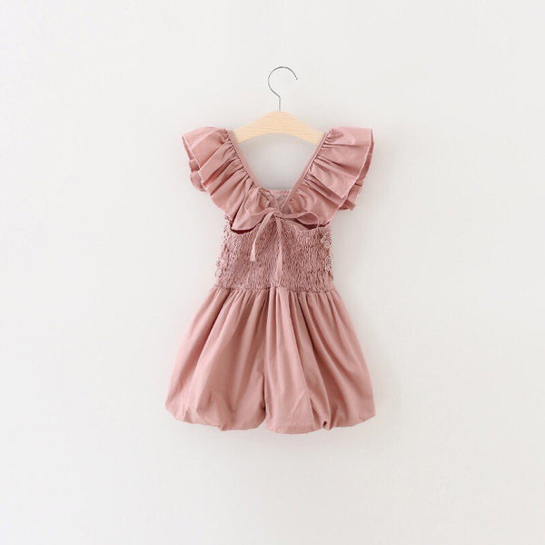 Madison ruffle Romper