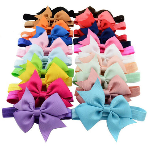 Set of 20 Headbands 3.5""