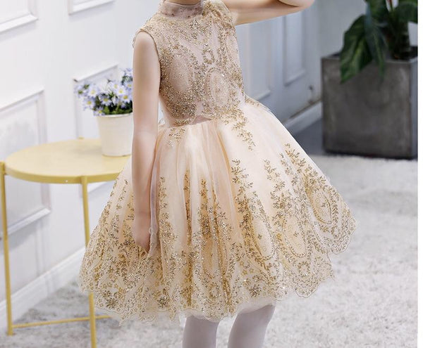 Annabelle Golden dust dress