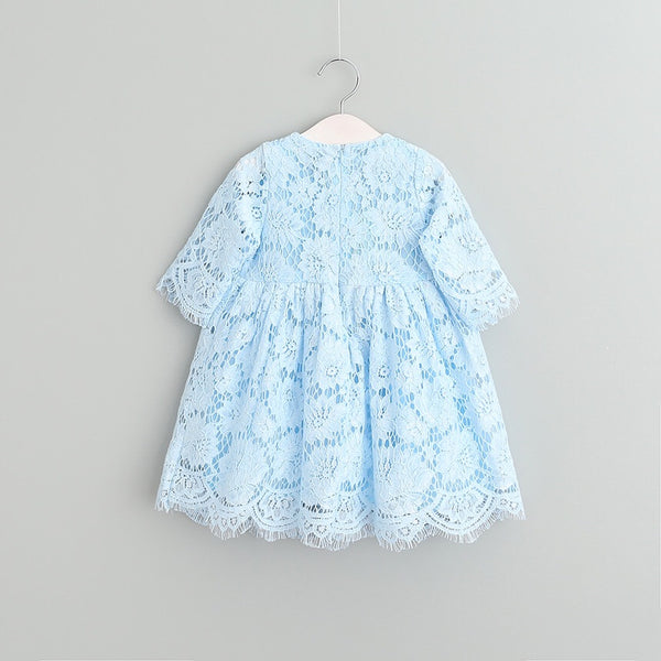 Liliana/Blue lace dress