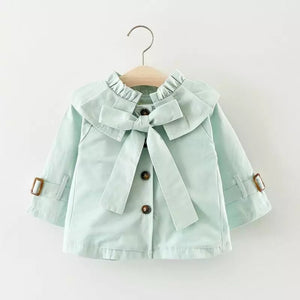 Mint/Ella trench coat
