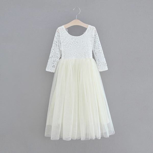 Eleanor dress in ivory