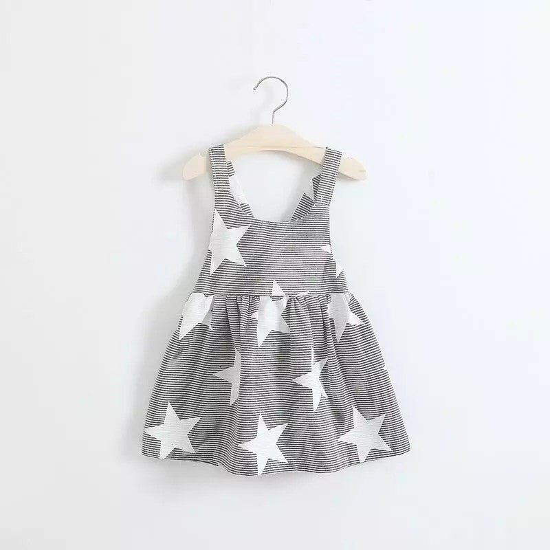 Grey star dress